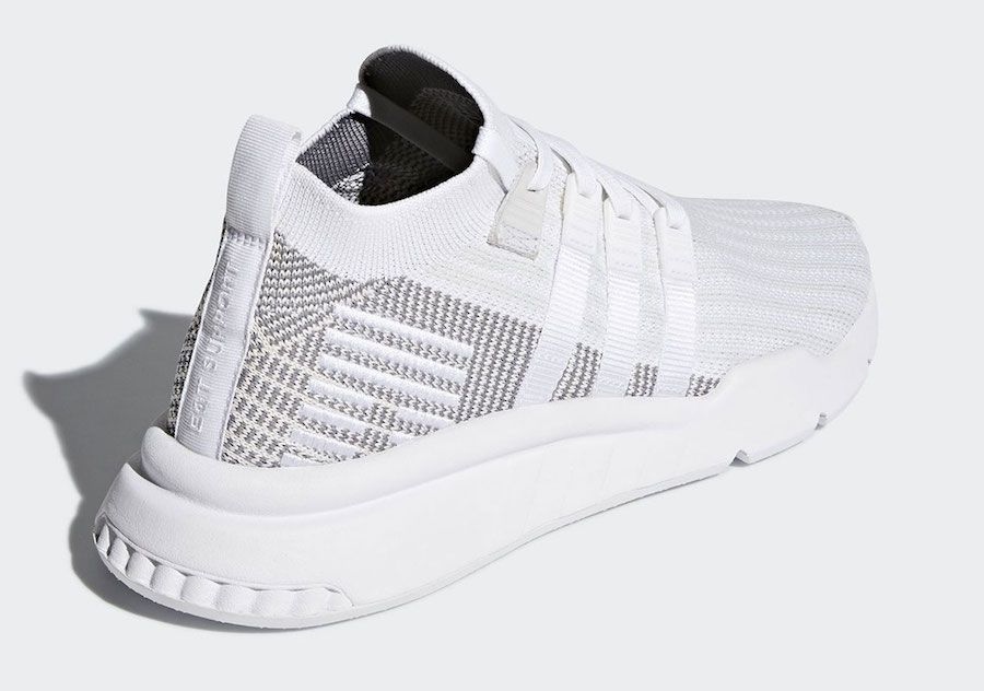 pretty nice 1128d 5491e The adidas EQT Support ADV Mid surfaces in a white and grey colorway that  is expected