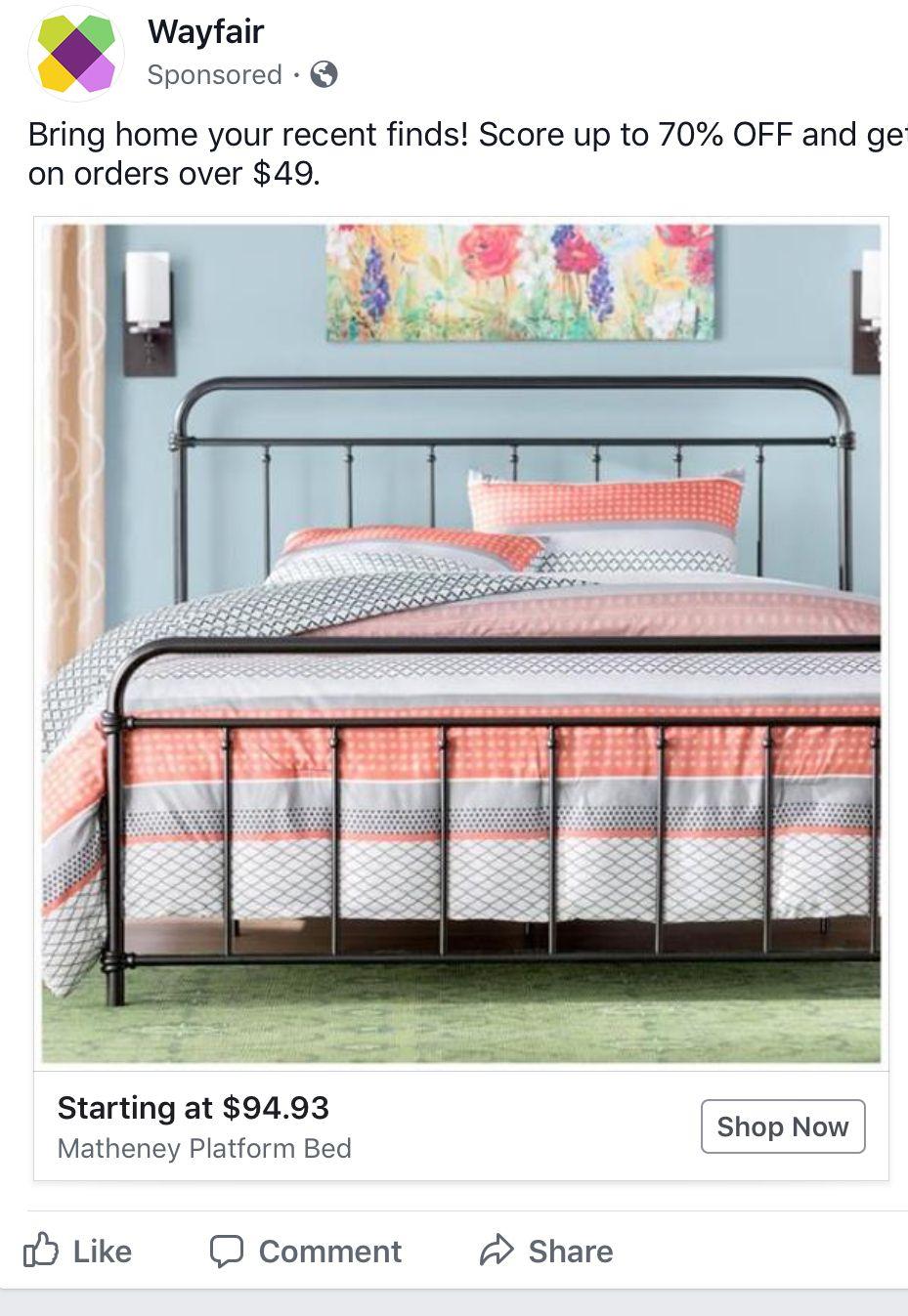 Pin by Susanne Ledo on J room Bed frame, Bed