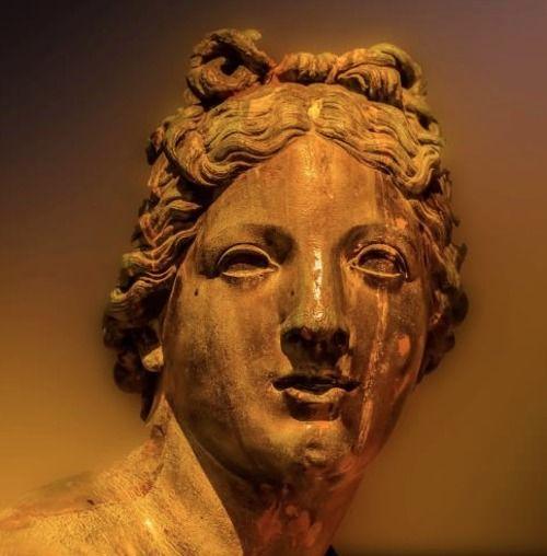statue at Versailles  detail