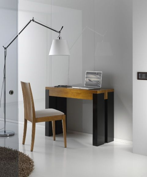 Escritorio | Mesa consola, Mesas de comedor extensibles y ...
