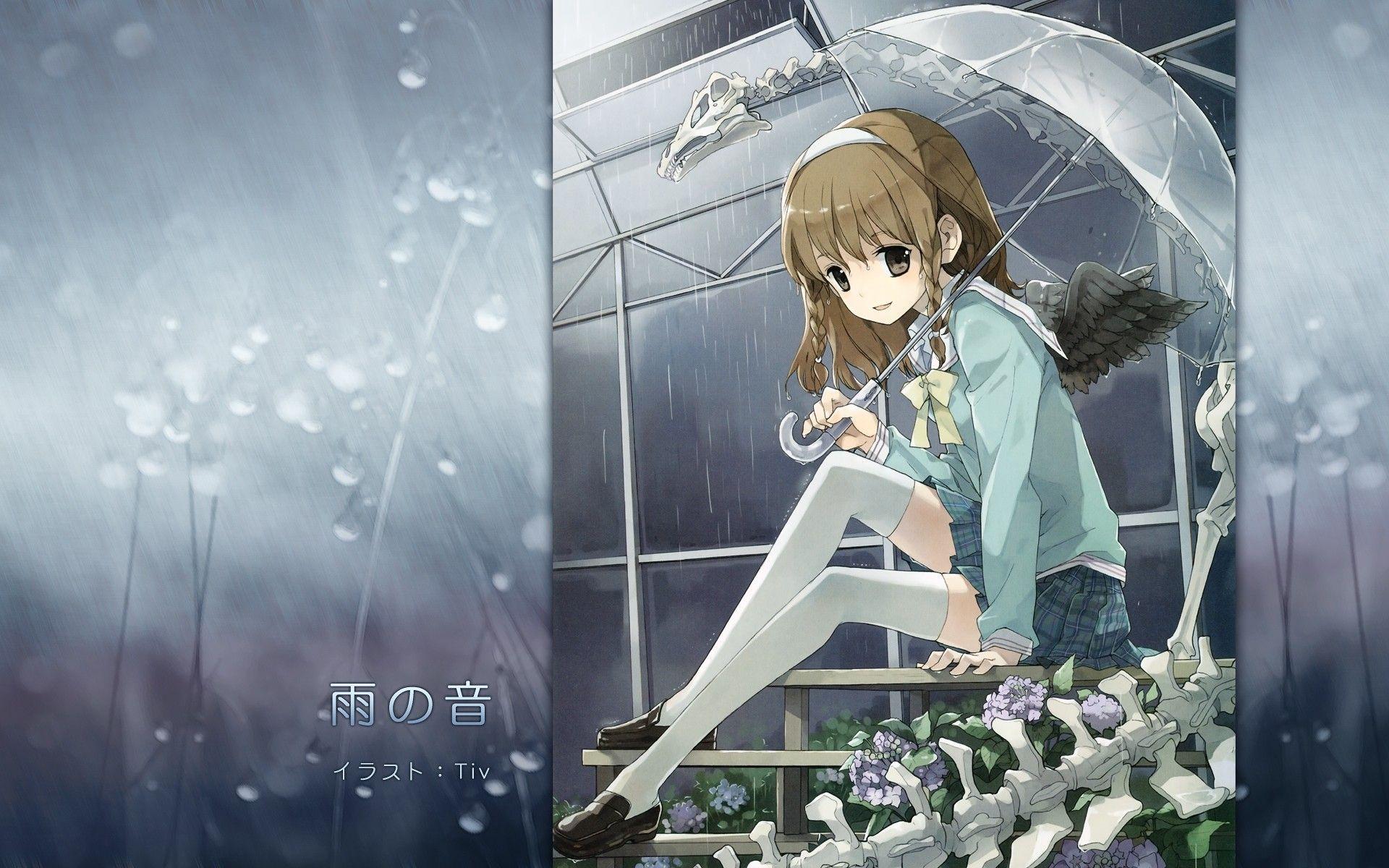 resultado de imagem para boy and girl in rain anime hd anime wallpapers girl in rain