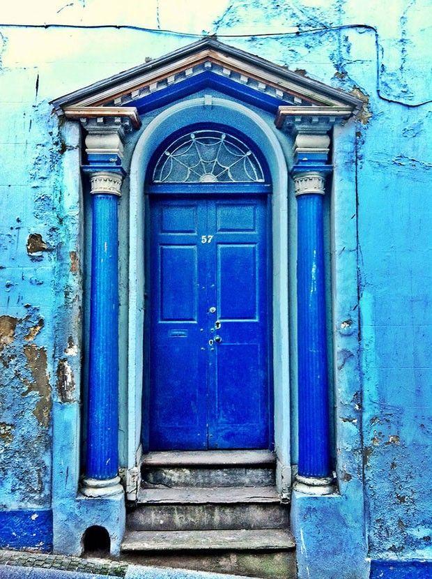 Portas maravilhosas (Foto: reprodução--------Northumberland, Reino Unido--