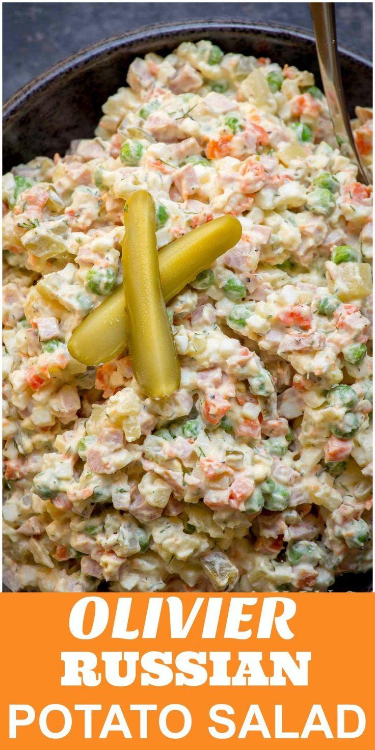 #olivier #russian #potato #salad #orOlivier Salat oder russischer KartoffelsalatOlivier ...   - Birthdays - #Birthdays #KartoffelsalatOlivier #oder #Olivier #orOlivier #potato #Russian #Russischer #Salad #Salat #olivierrussischersalat