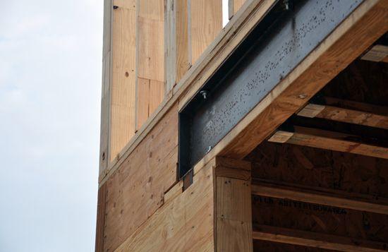 Cottonwood Modern Framing Update Garage Doors Door
