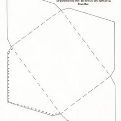 Greeting Card Envelope Template {online printable cards} TRANSFERS