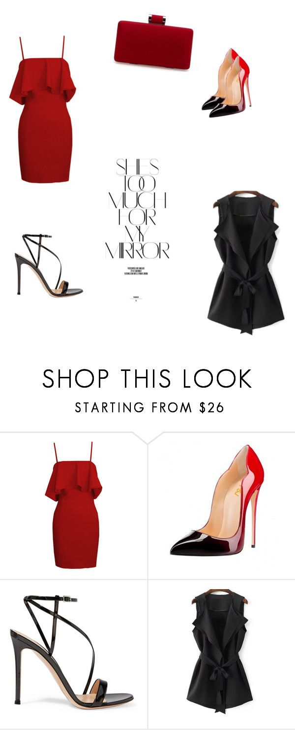 """Untitled #76"" by fefe-tifanie ❤ liked on Polyvore featuring Rika and Gianvito Rossi"