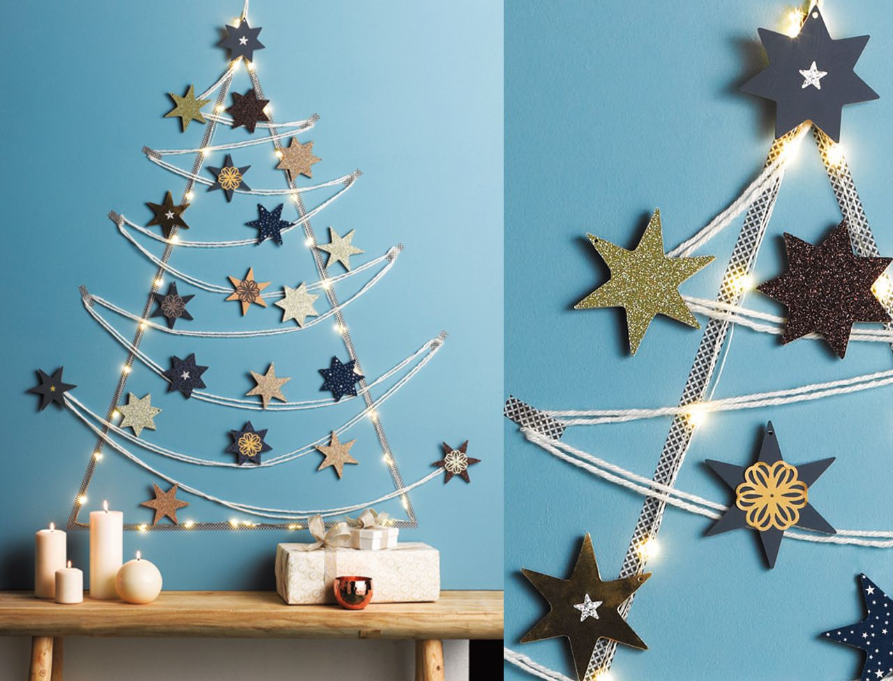 Originales, nos idées de déco de Noël à faire soi-même | Fabriquer deco de noel, Deco noel et ...