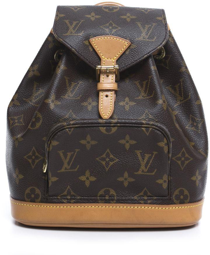 699e7d52bc176 Louis Vuitton Monogram Montsouris PM Backpack