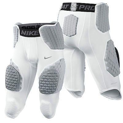 Nike Pro Combat Hyperstrong 451658-100 Hardplate Padded 3/4 Football Girdle  NWT