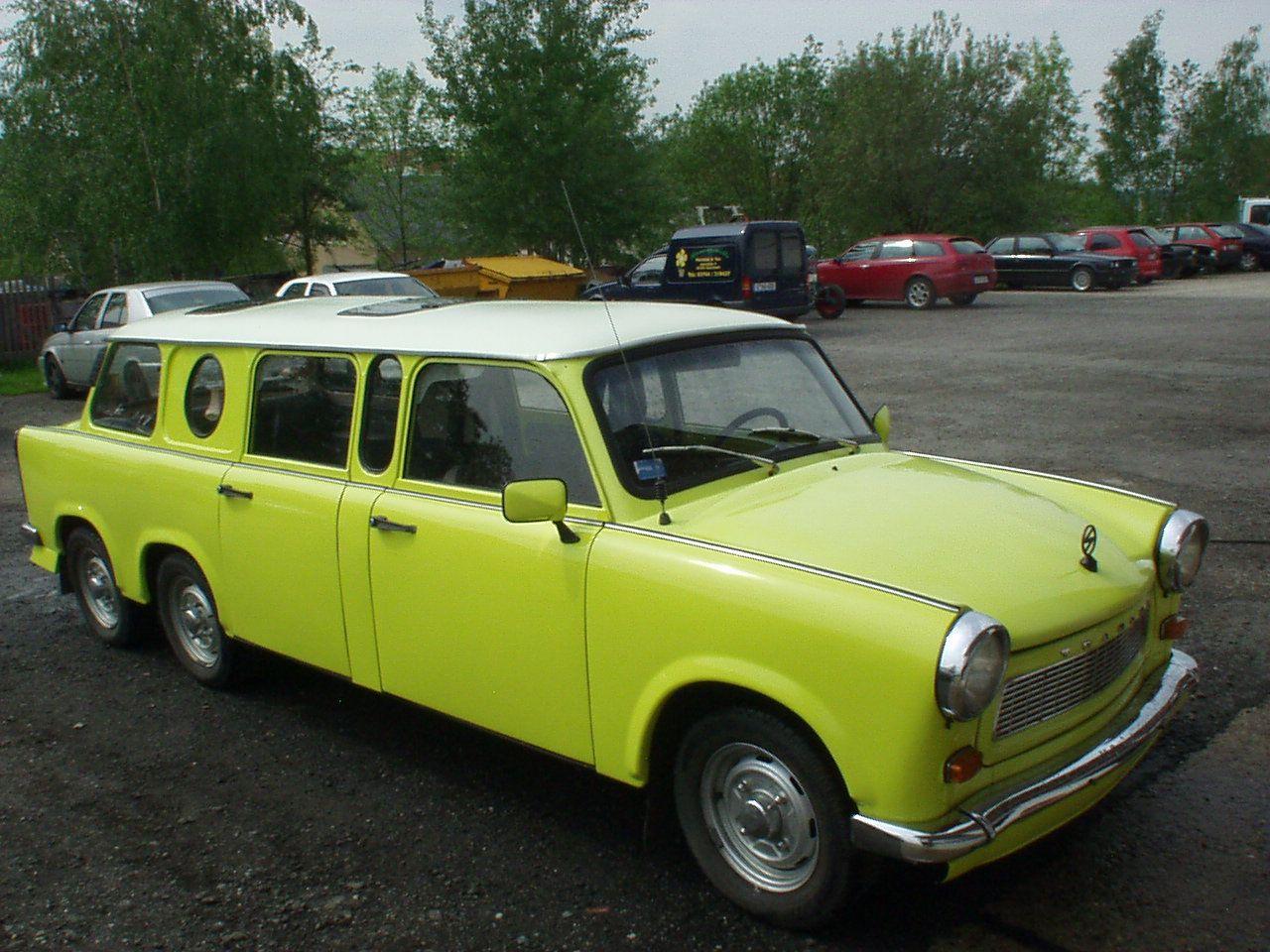Trabant East German Cold War Era Classic Plastic Car Ith A
