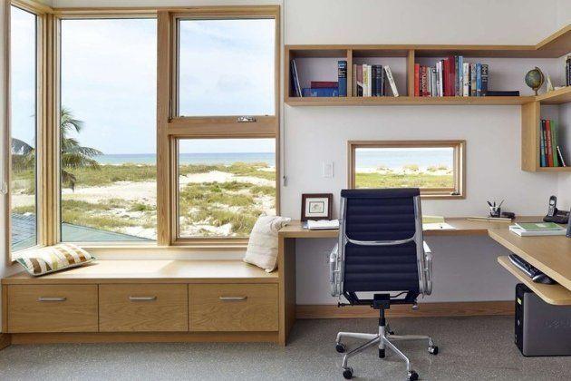 Bureau à la maison: 57 idées d\'organiser le travail à domicile ...