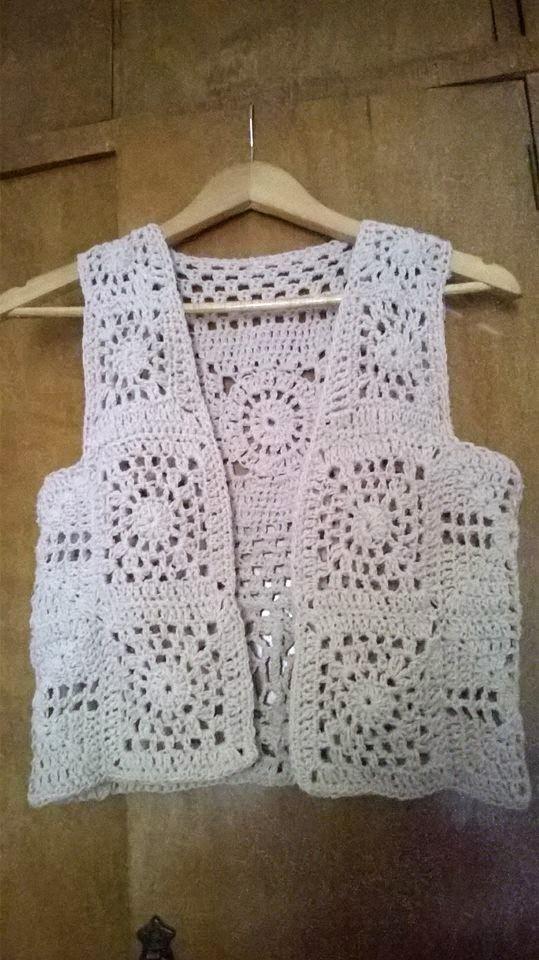 Pinterest Crochet Estilo Granny Chaleco Ganchillo De Túnica xgRgYHw