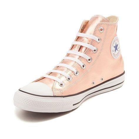 High Top Converse Rose Gold Blush Pink