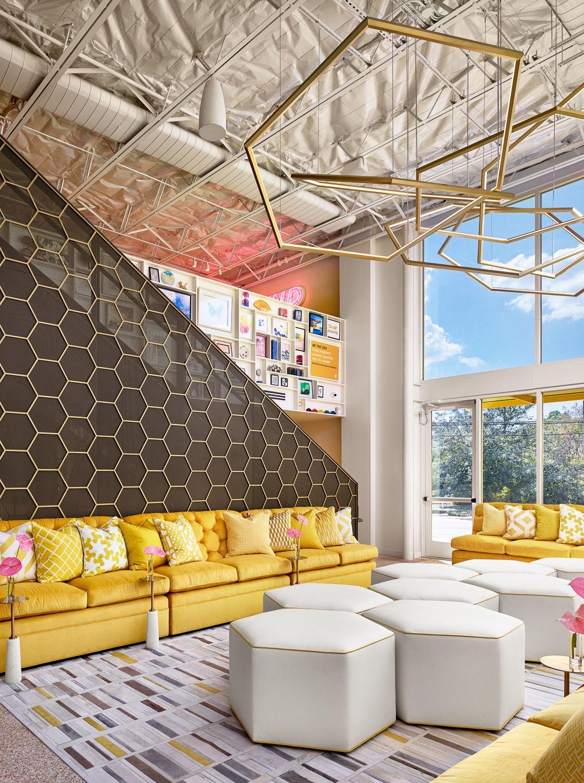 Bumble\u0027s Cool New Austin Headquarters #seatingarea #design #moderndesign :// & Inside Bumble\u0027s Cool New Austin Headquarters | Design firms ...