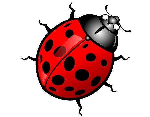 Ladybug Vector Image Clipart Panda Free Clipart Images Bug Cartoon Ladybug Lady Bug Cartoon