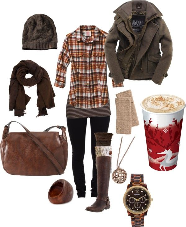 """rugged winter with the greatest accessory of all."" by mollybanana on Polyvore"