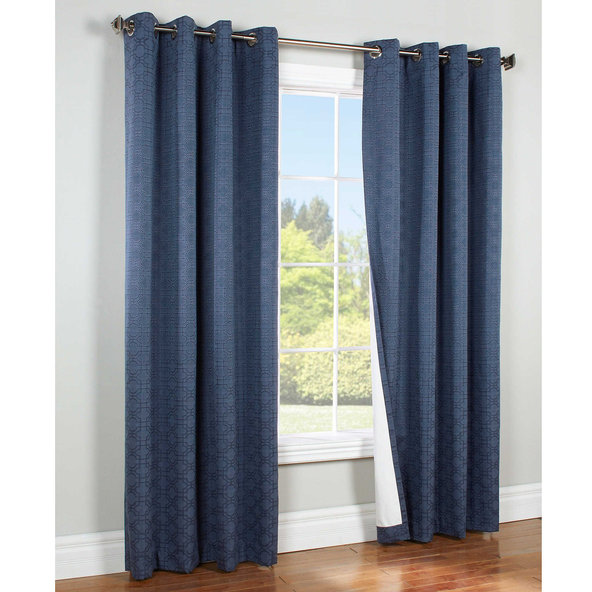 Bed bath and beyond window curtains  commonwealth home fashions irongate insulated blackout grommet top