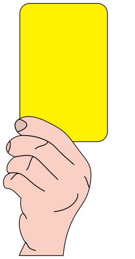 Referee Soccer Yellow Card Yellow Cards Soccer Cards