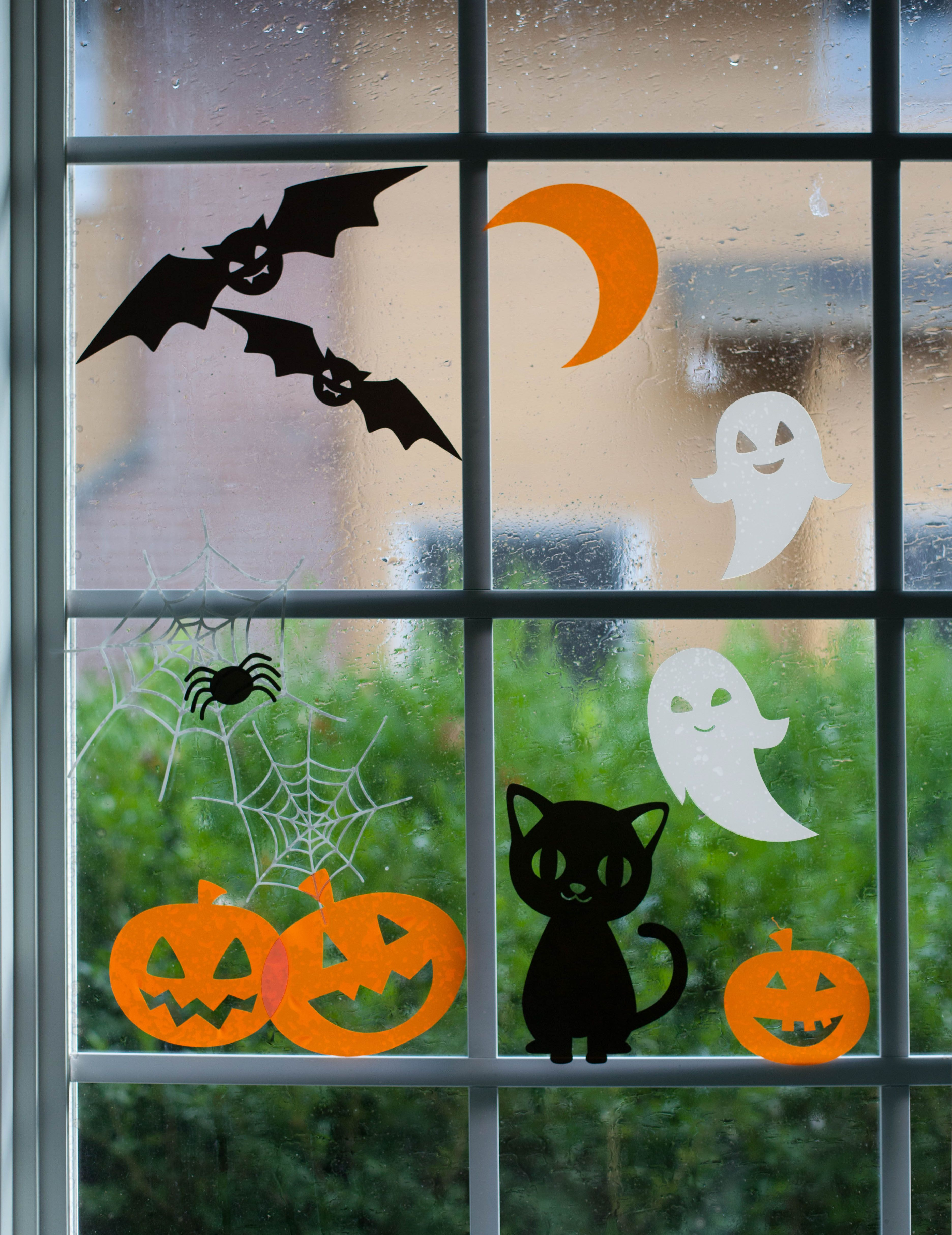 halloween window cling designs by lia griffith make it now in cricut design space