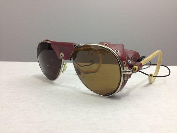 4747800f0 Vintage Julbo Glacier Aviator Sunglasses by xCartATTACKx on Etsy, $95.00  Óculos De Sol Do Vintage