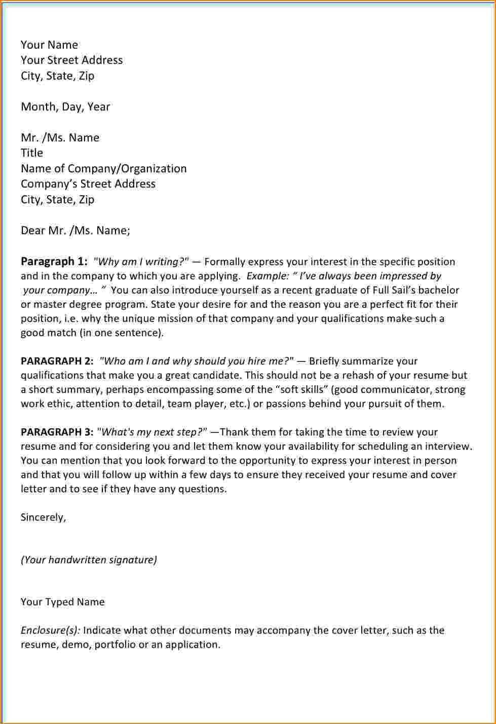 How To Address Someone In A Cover Letter