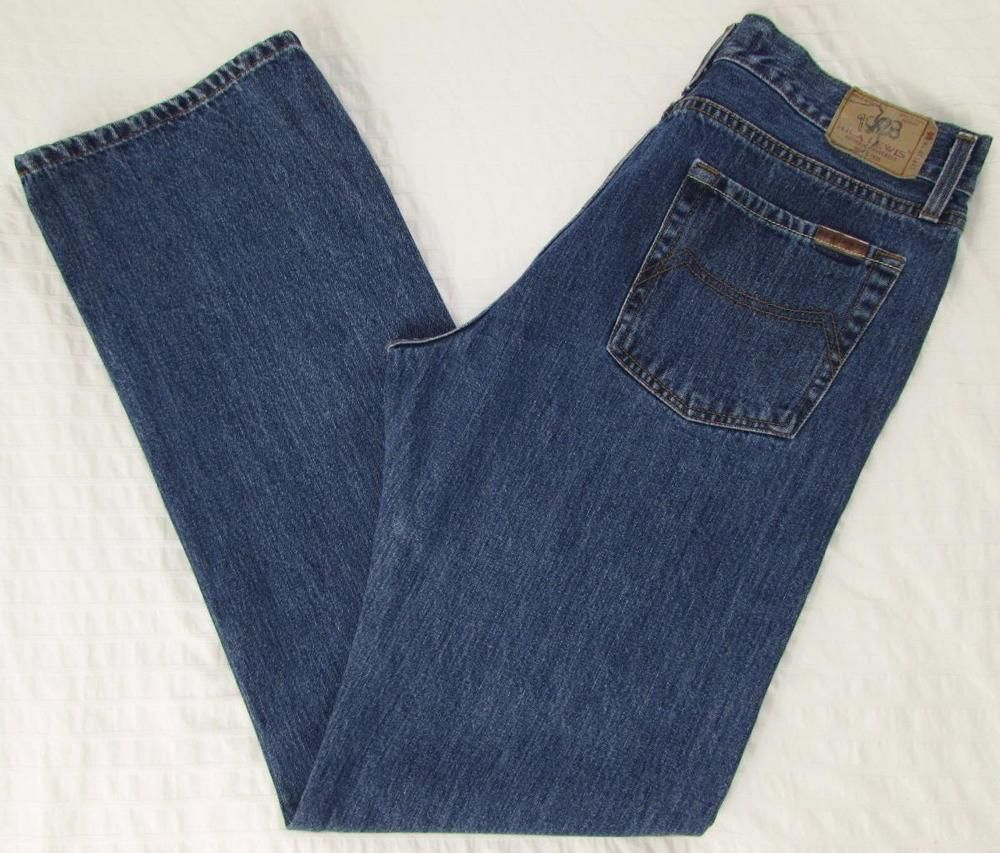 low priced c5297 72e2a Details about Old Navy Men Size 34 L32 Medium Wash Boot Cut ...
