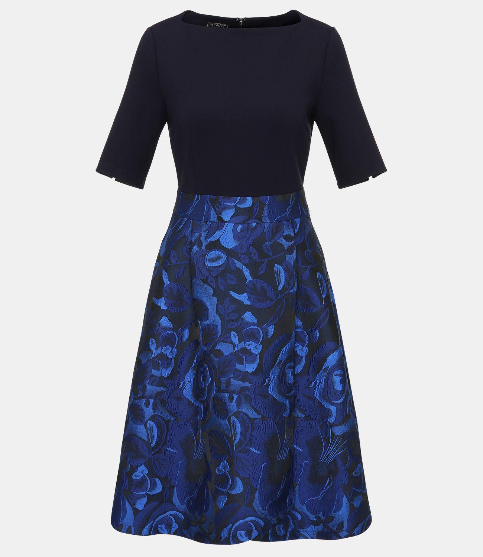 Jacquardkleid | Kleider, Modische kleider für frauen und ...