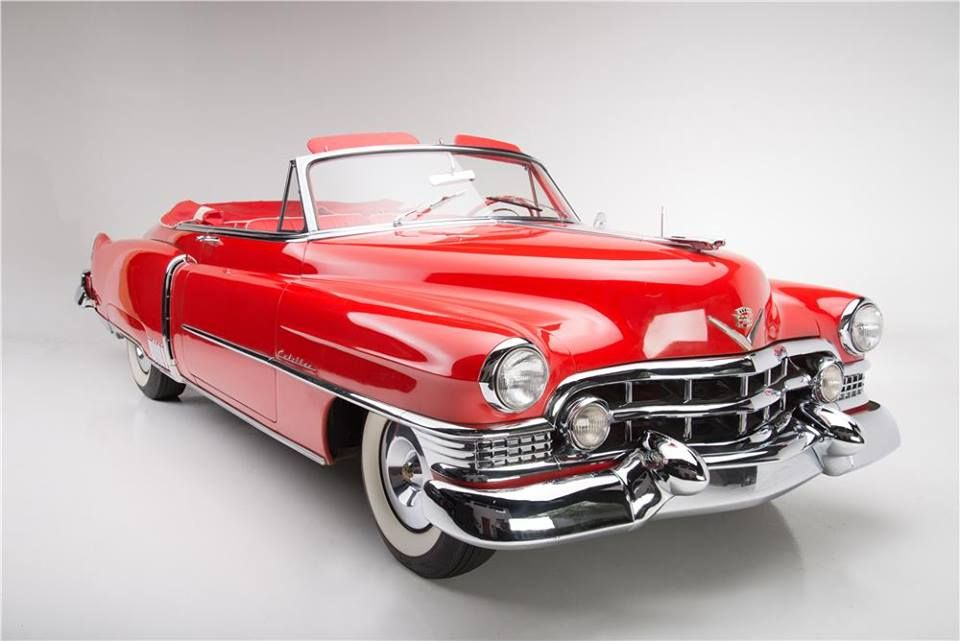 Red 51 Cadillac convertible | Clic Speed & Style | Pinterest ...