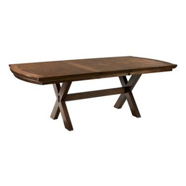 Burkesville Extension Trestle Dining Table for Rent & Resale - Staging & Design Network