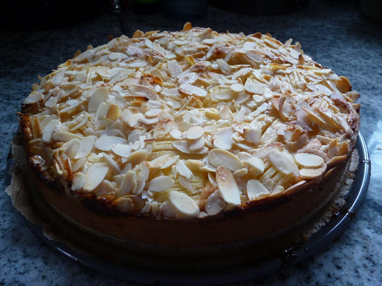 Versunkener Apfelkuchen #glutenfreierezepte