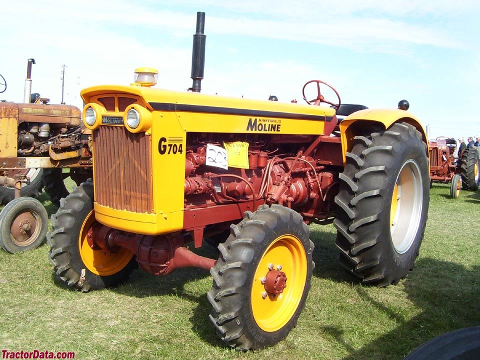 Tractordata Com Minneapolis Moline G704 Tractor Photos Information