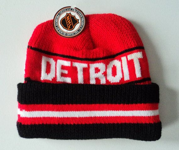 Vintage Detroit Red Wings Deadstock Beanie , $17.99