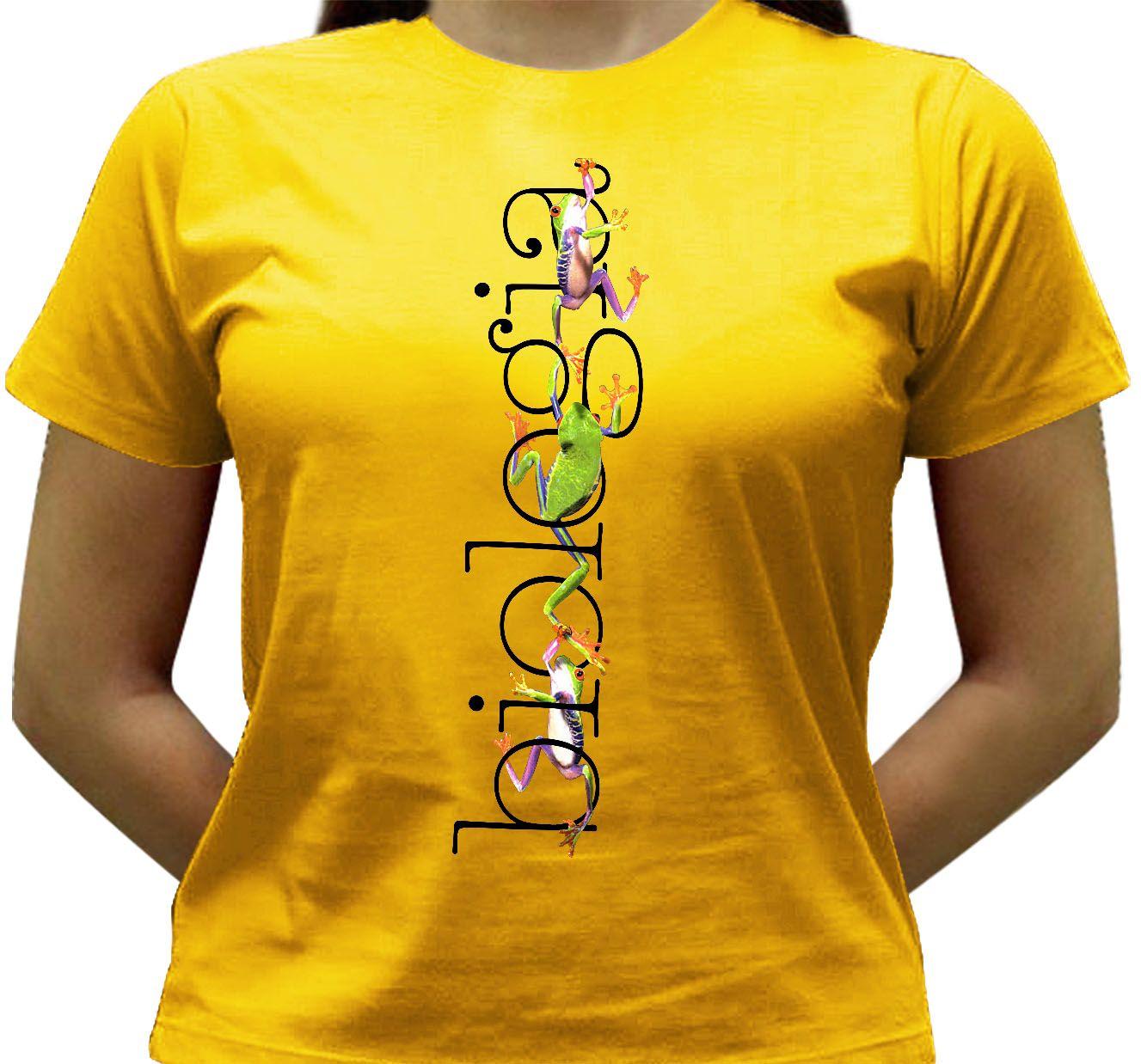 Camiseta Biologia2 - Baby-look - Camisetas Tríbole Camisetas