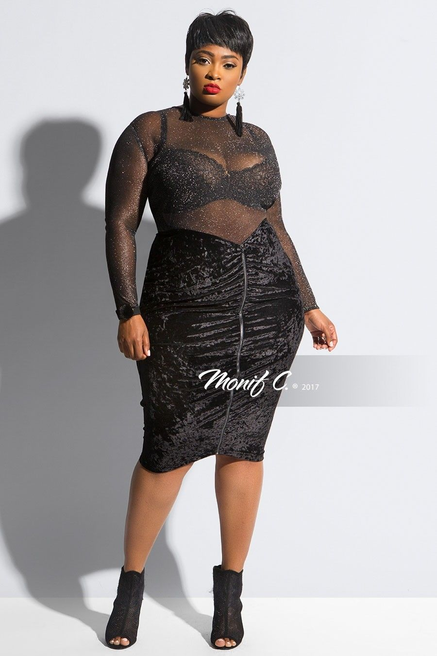 5a6ffee0102 Monif C Plus Size Clothing
