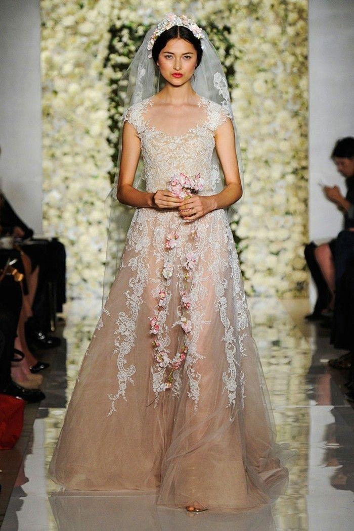100 einzigartige Modelle Champagne Brautkleider! | Champagne wedding ...