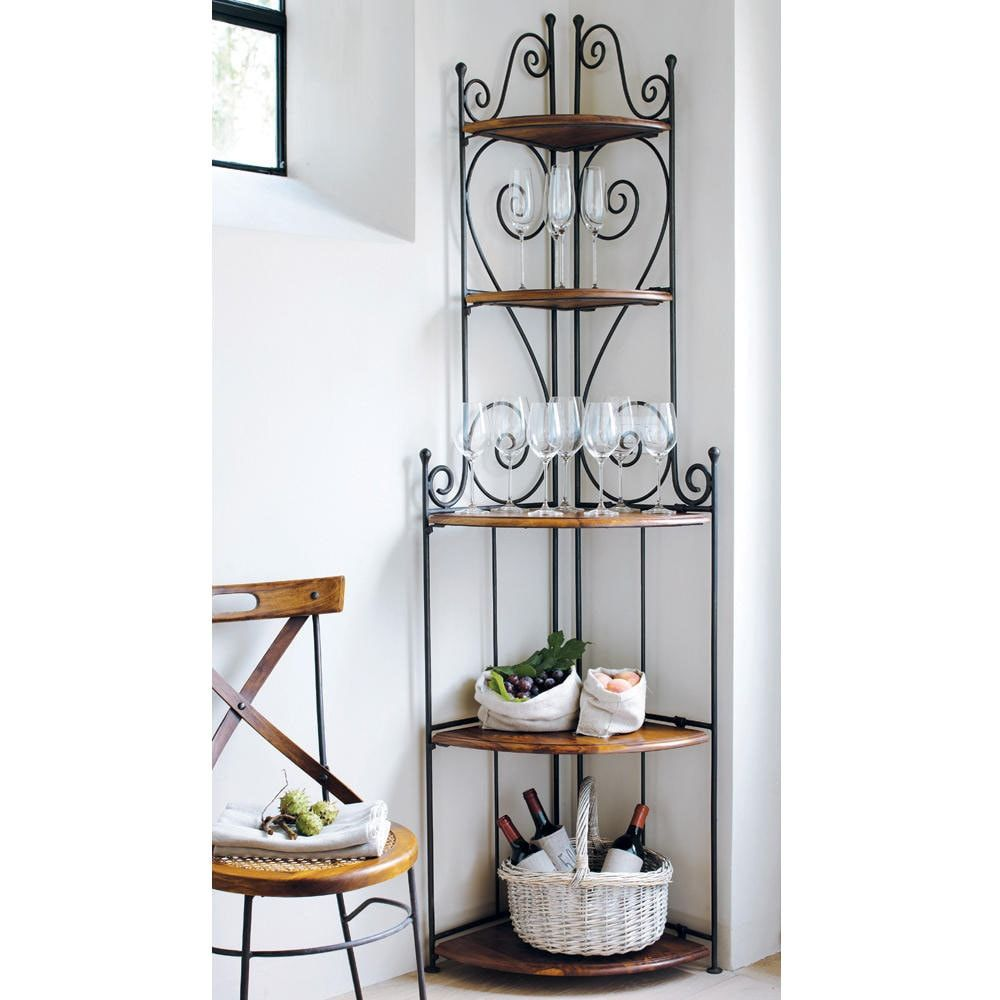 Mueble esquinero de hierro ... - Lubéron   Pa decorar   Pinterest ...