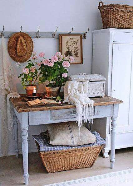 Luxury Shabby Chic Hall Table