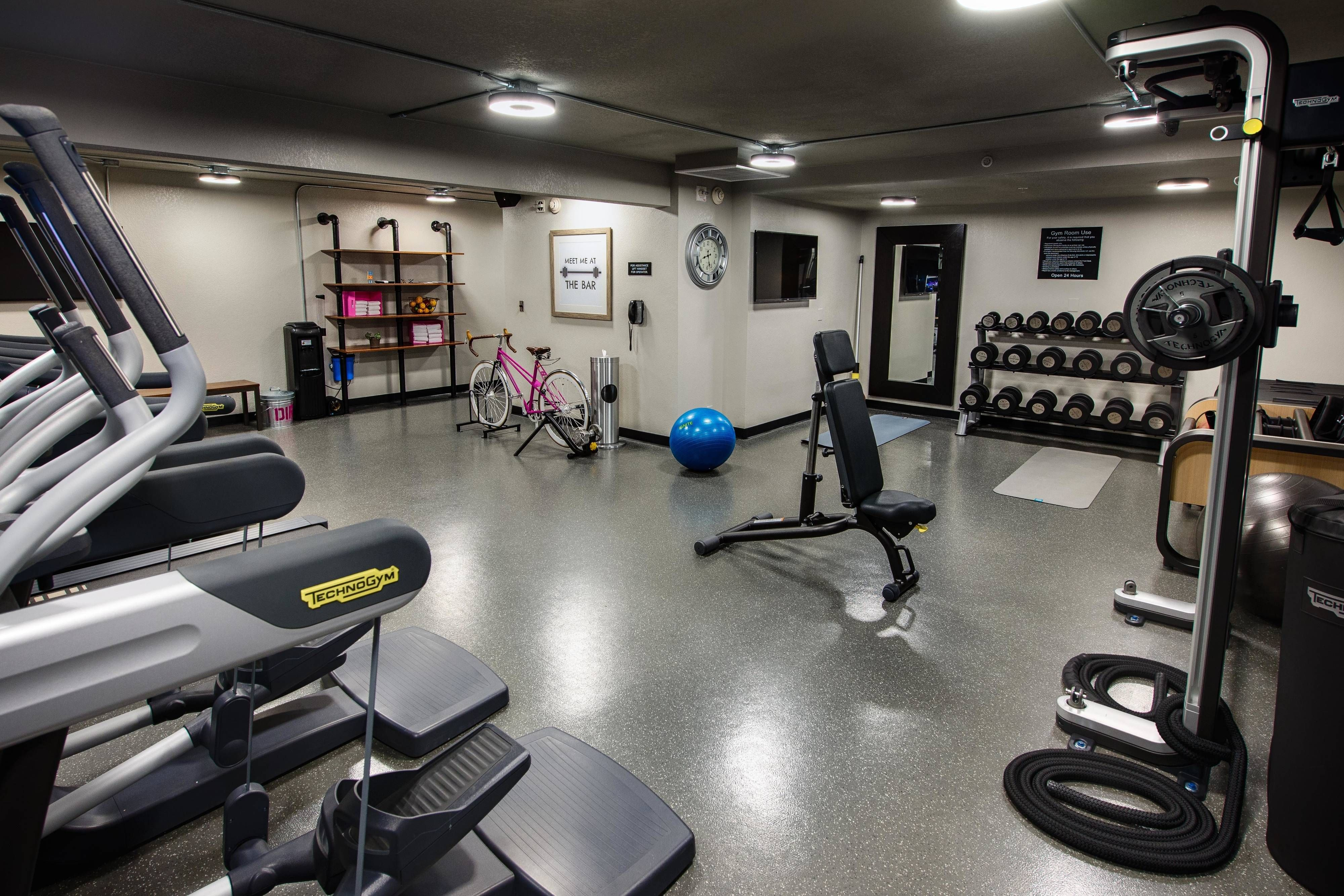 Moxy Phoenix Tempe Asu Area Fitness Center Cardio Holiday Holiday Enjoying Hotel Phoenix Az Hotels House Styles