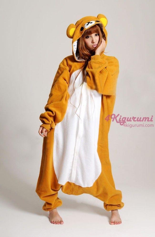onesie | ... onesie http www 4kigurumi com animal adult onesie rilakkuma kigurumi