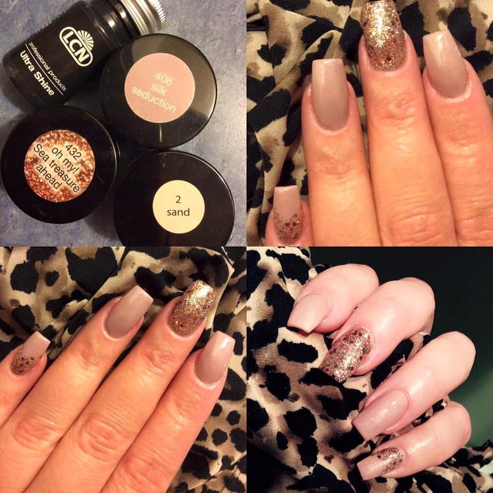 Nails Done By Alyson Ertell Lcn Gel Nails With Nail Art