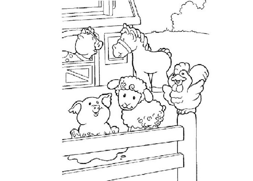 cartoon-farm-animal-coloring-pages-pictures-392442