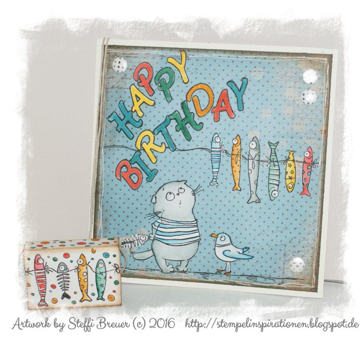 Inspirationen steffi's stempel-inspirationen & more: happy birthday | Басик