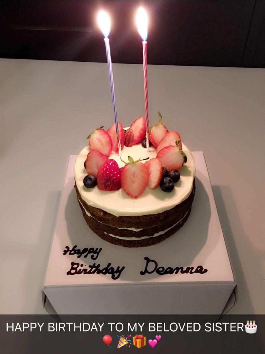 Happy Birthday Deanna Desserts Cake Food