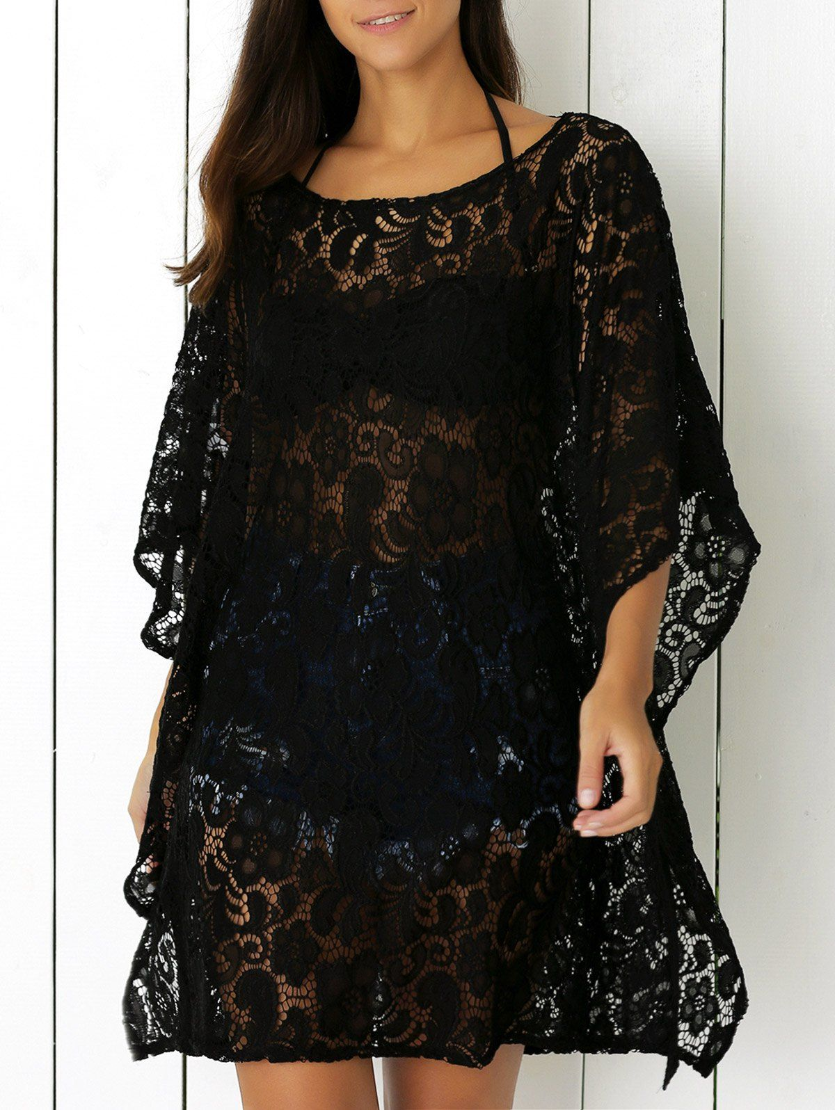 Openwork lace cover up dress fashion sites dress shoes and shoe bag