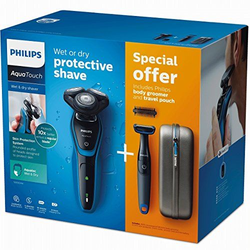 Chollo Afeitadora Electrica Philips Aquatouch Body Groomer Funda Por 70 22 Euros Afeitar Belleza