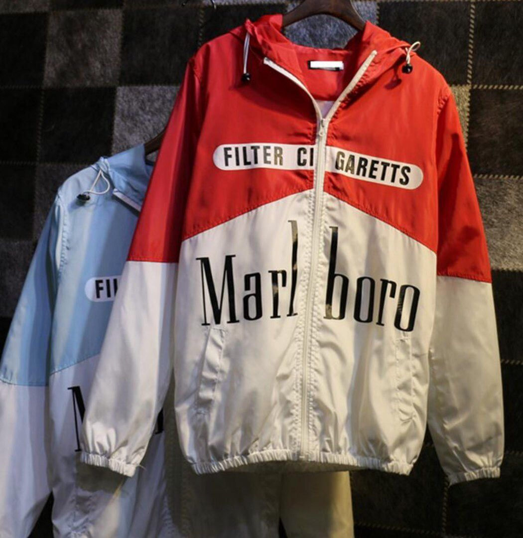marlboro jacket cool куртка ветровка мальборо