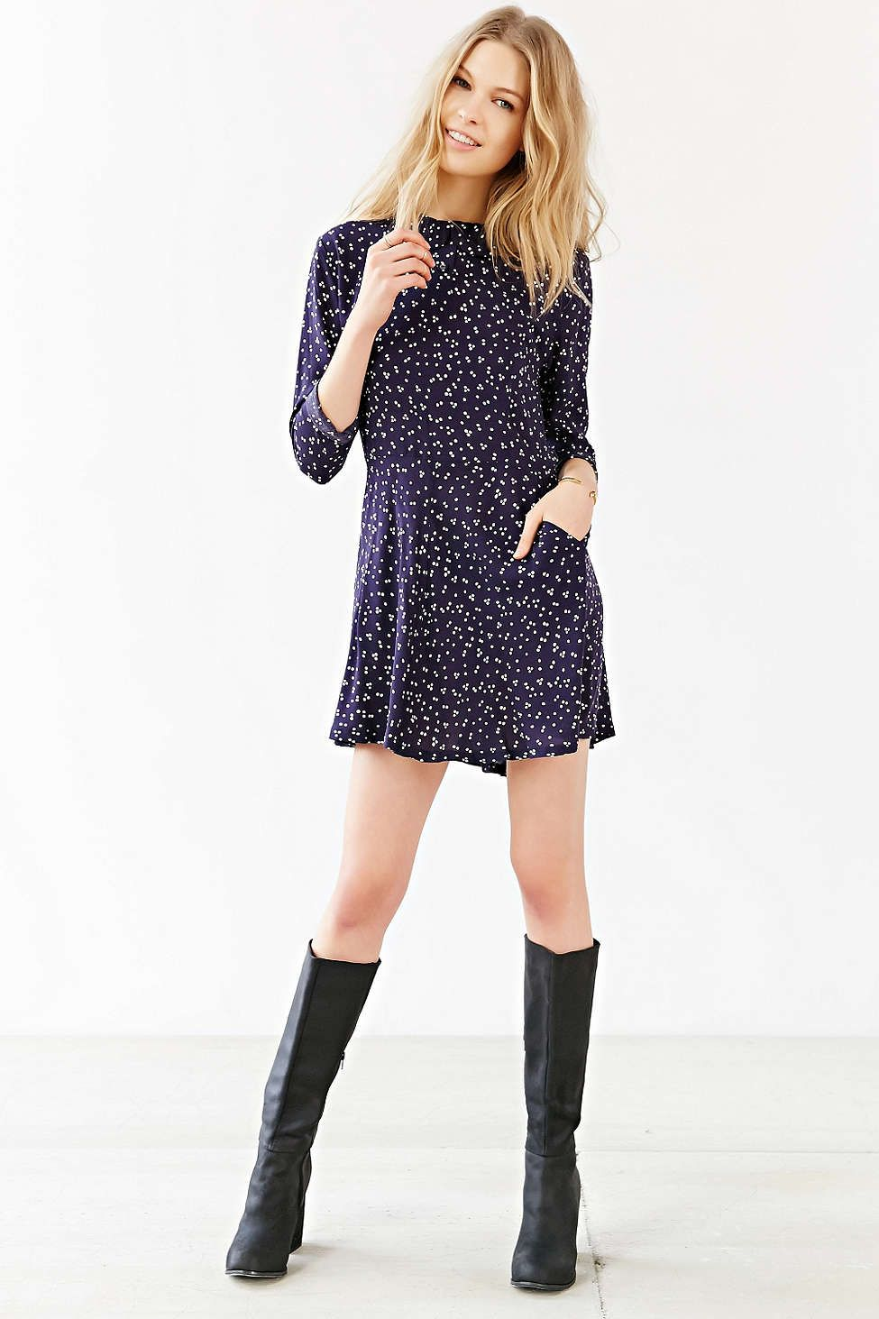 RYDER Midnight Dress - Urban Outfitters