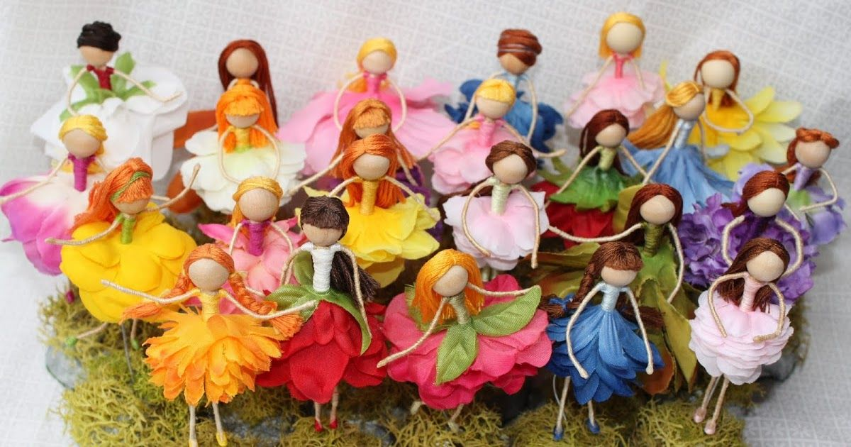 These flower fairies were the biggest hit at the craft fair