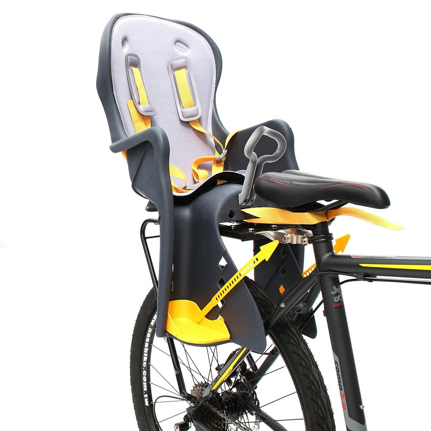 Bicycle Kids Child Rear Baby Seat Bike Carrier Usa Standard With