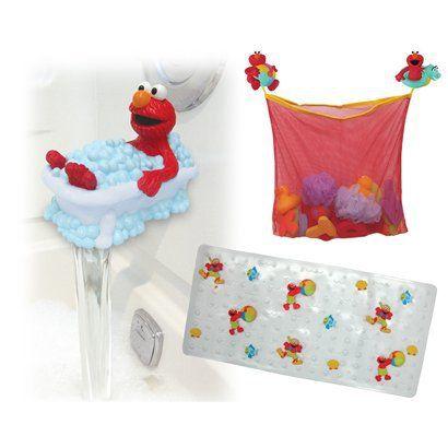 Delicieux Sesame Street Bath Set